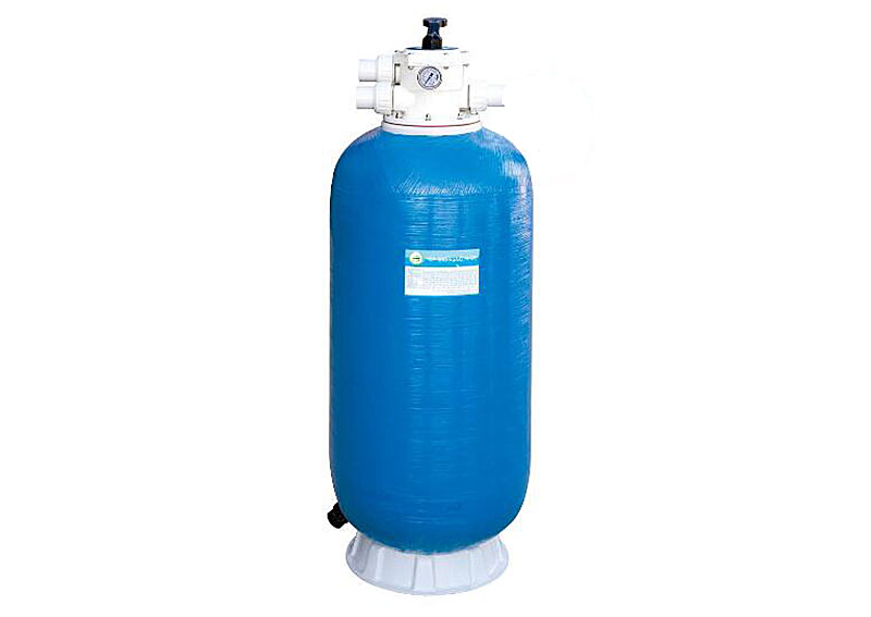 CB series top mount of deep bed sand filter/fresh water tank