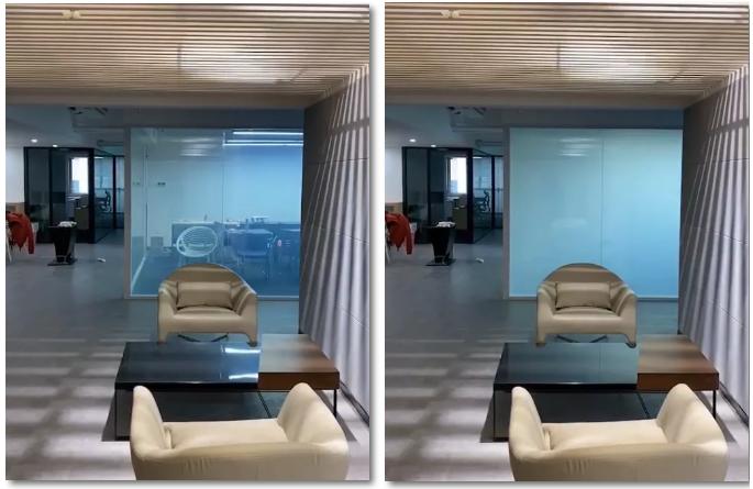 调光玻璃视频及案例分享