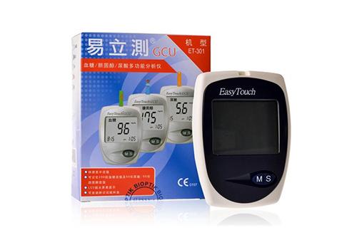 易立测血糖尿酸胆固醇仪