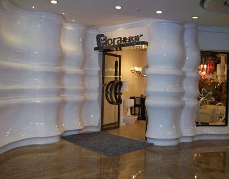 户外景观玻璃钢雕塑-灯饰展厅玻璃钢工程