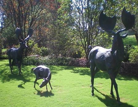 仿真动物雕塑-鹿