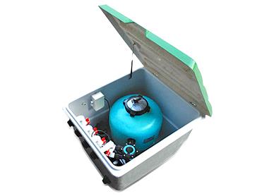 一体化泳池过滤设备-Intpool地埋式一体机