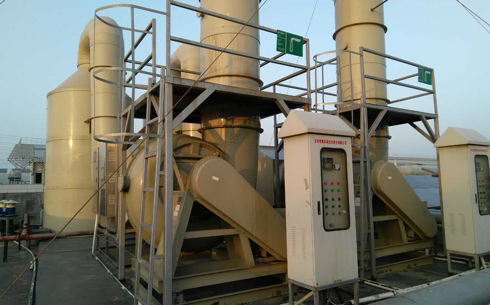Waste gas treatment project introduction