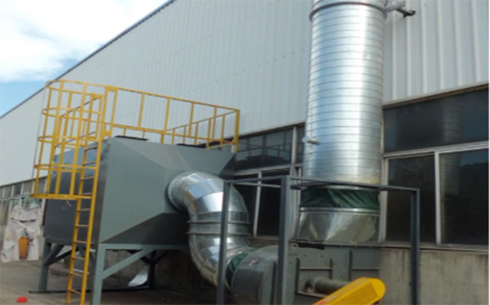 Organic Waste Gas Case——Feilin Organic Waste Gas Treatment Project on the 2nd Floor of Xingsha No.1