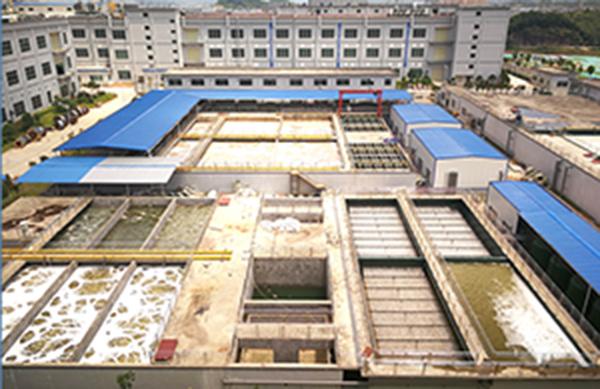 藍思科技電子研磨廢水處理項目