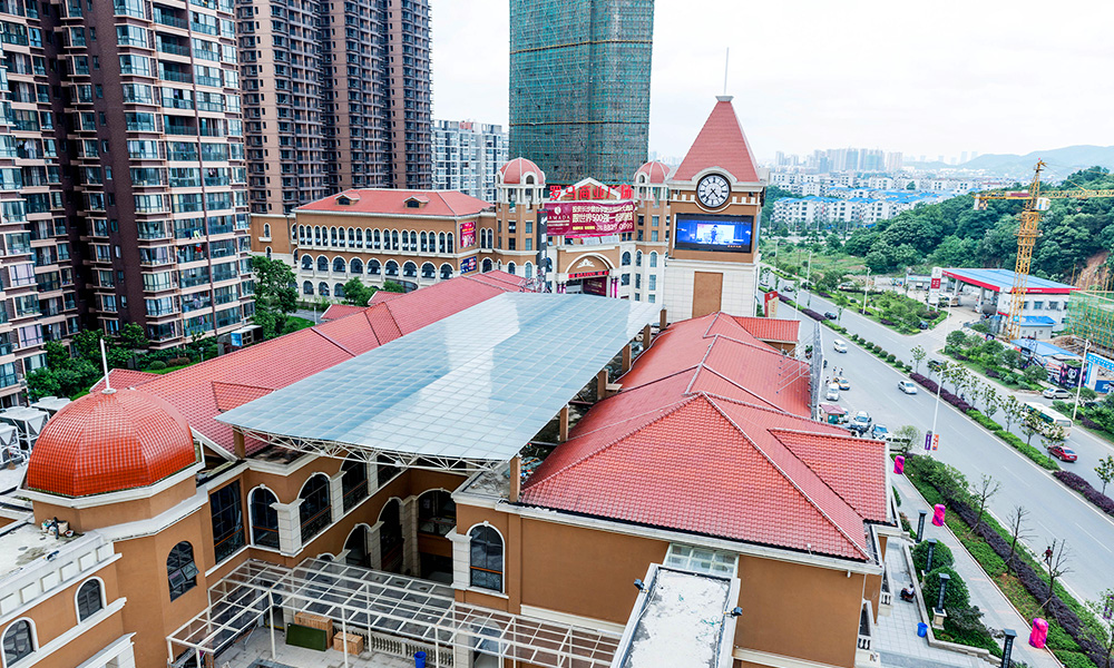 湖南長沙—外貿學院