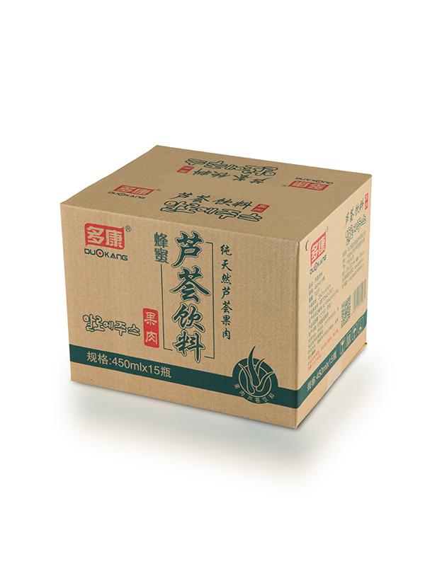 多康-450ml蜂蜜蘆薈汁