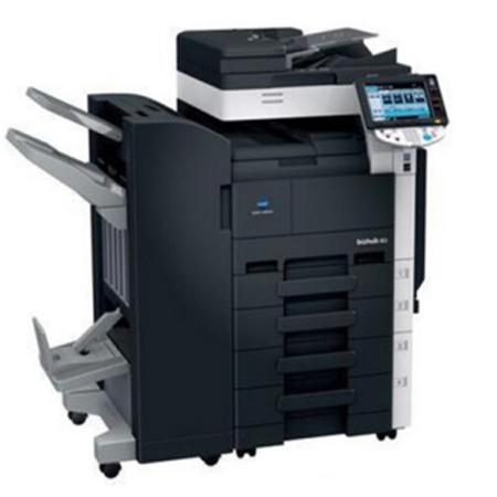 九成新柯美363黑白复印机一体机出租