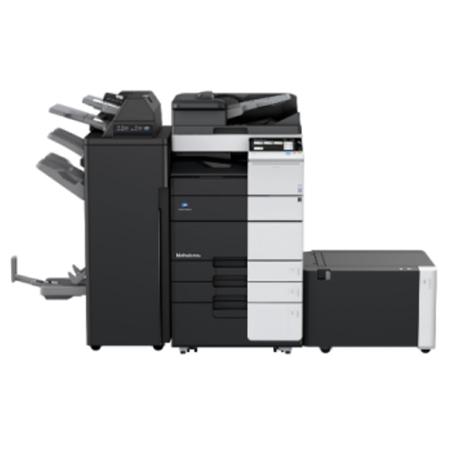 柯尼卡美能达BH308黑白复合机-黑白打印扫描一体复印机租赁