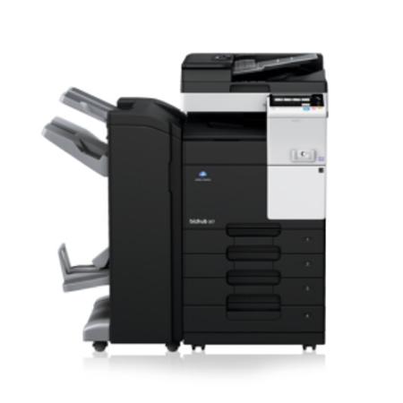 柯尼卡美能达BH367黑白复合机-多功能黑白一体复印机出租
