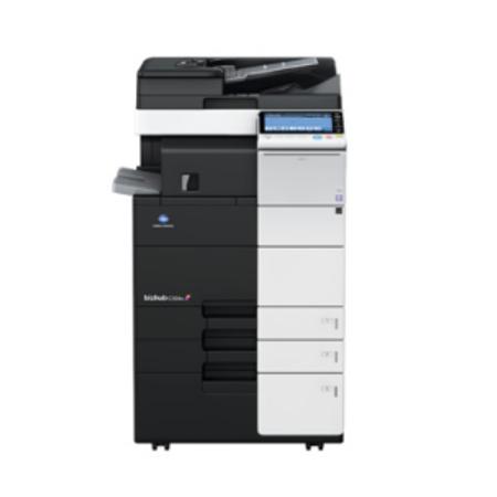 柯尼卡美能达C454彩色复合机-多功能彩色数码复印机租赁