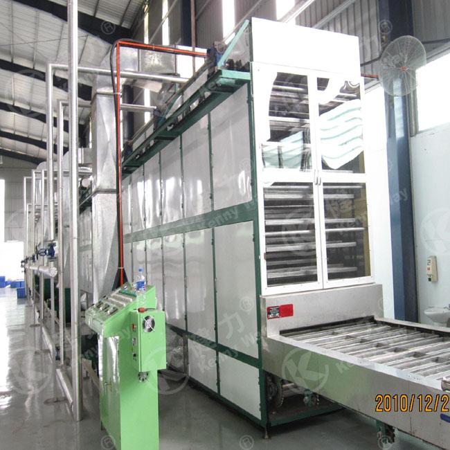 The KS2 Instant corn vermicelli production line