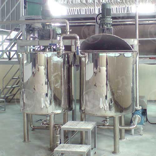 Rice liquid tank
