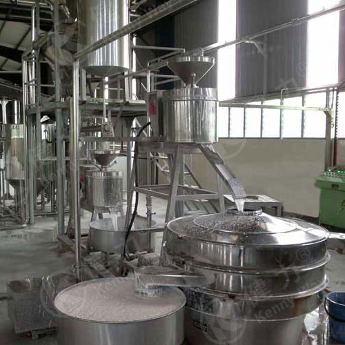 Auto rice washing, soaking and grinding system