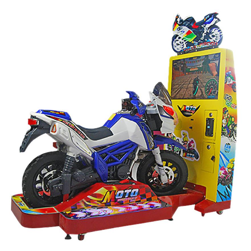 攻击摩托儿童赛车机