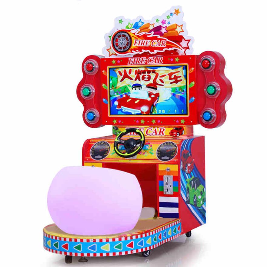 火焰飞车儿童赛车游戏机