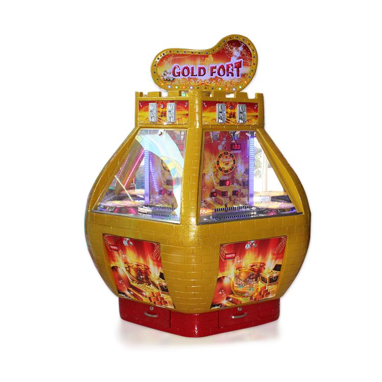 黄金堡推币机投币游戏机大型电玩设备