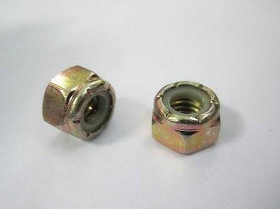 六角尼龙嵌件螺母