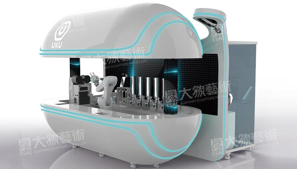 AI 智能奶茶机器人