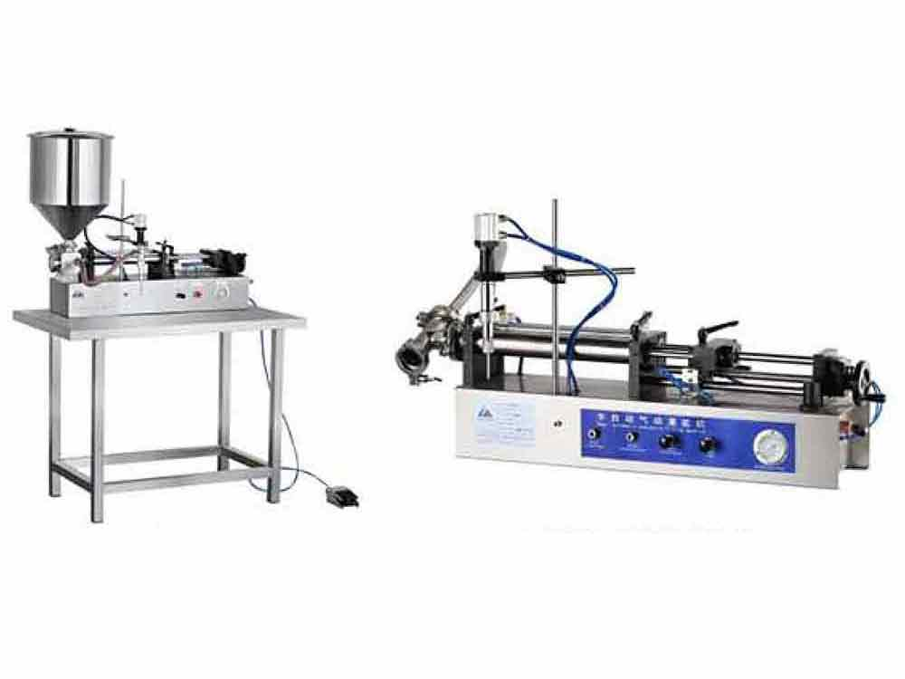 FGJ-W Pneumatic Horizontal Cream And Liquid Filling Mzchine