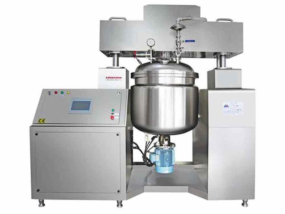 FMH Hydraulic Lift Vacuum Emulsifying Machine