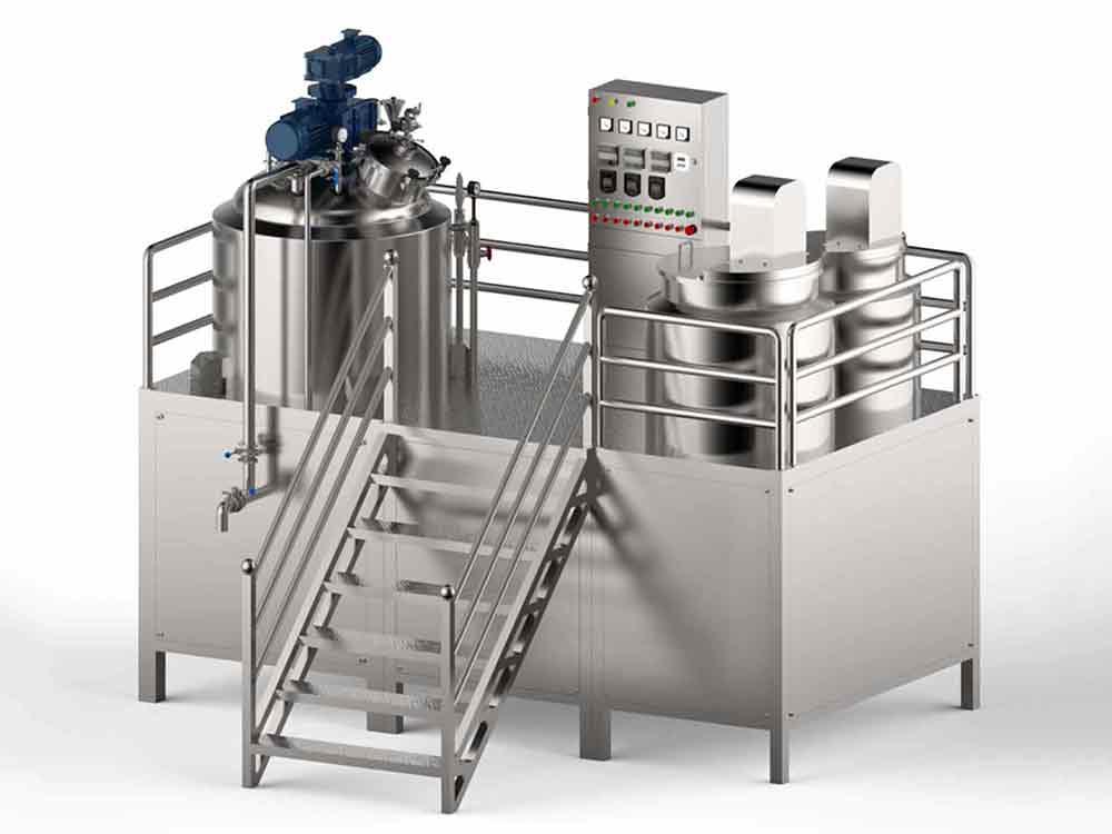 FMD Fixed Vacuum Emulsifying Machine