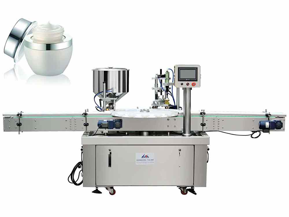 FGJ-Z Rotating Disc Filling And Capping Machine