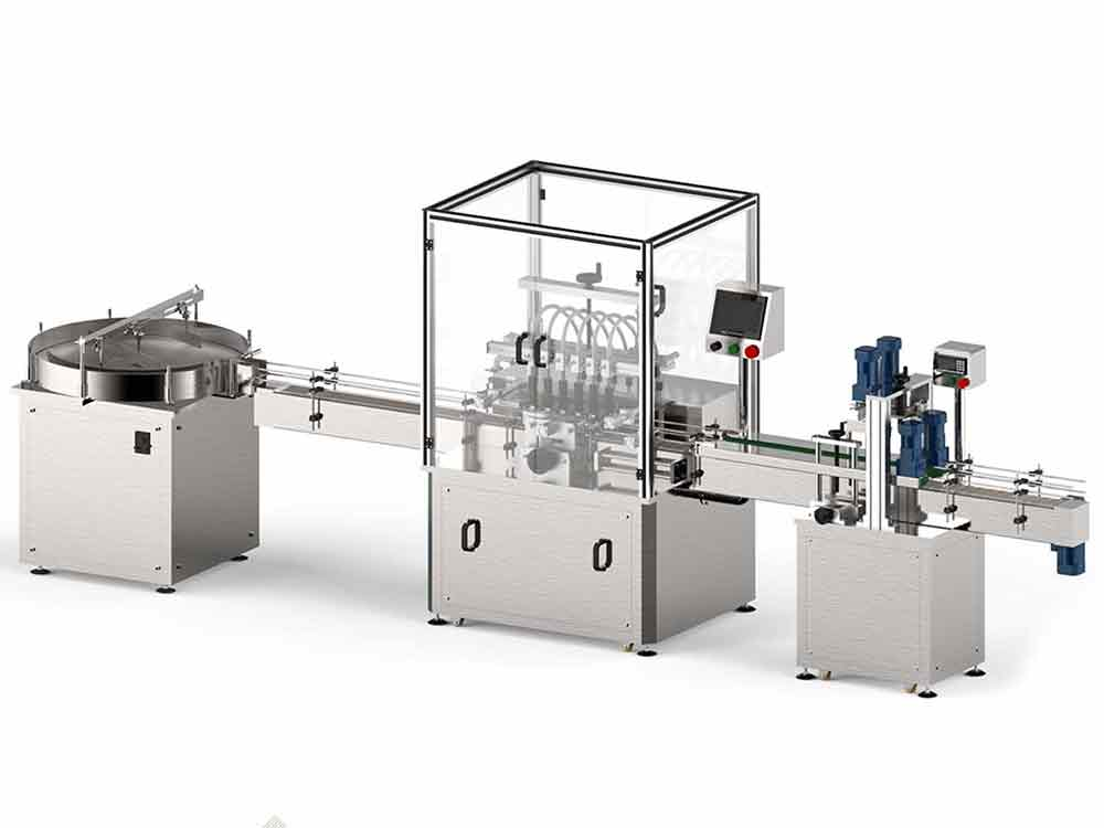 FGJ-X Automatic Perfume Filling And Capping Machine