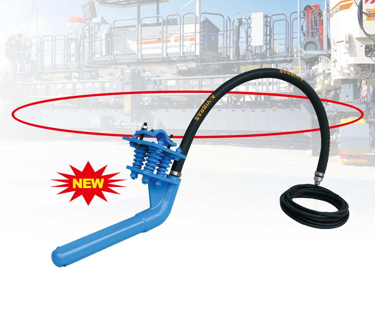 滑模摊铺机专用高频振动棒