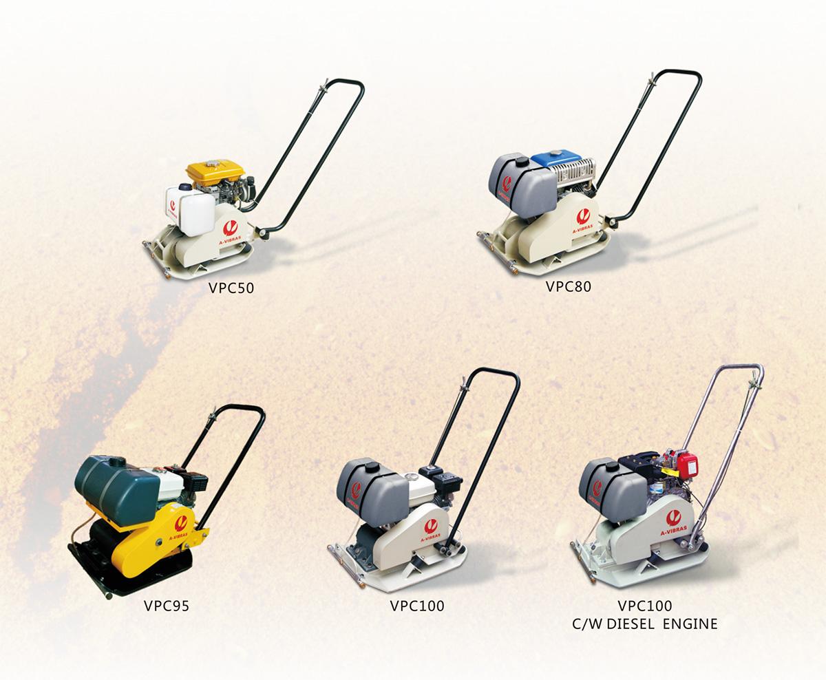 VPC系列单向振动平板夯