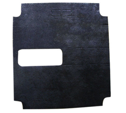 Asphalt damping plate 003