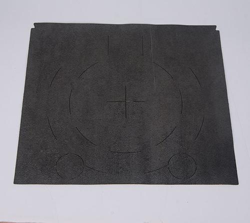 Asphalt damping plate 007
