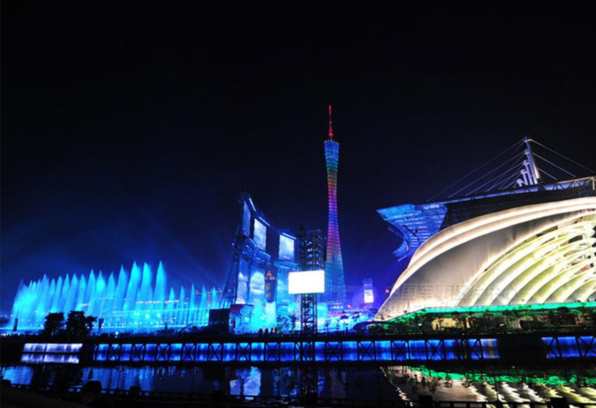 广州亚运会开闭幕式场馆·海心沙