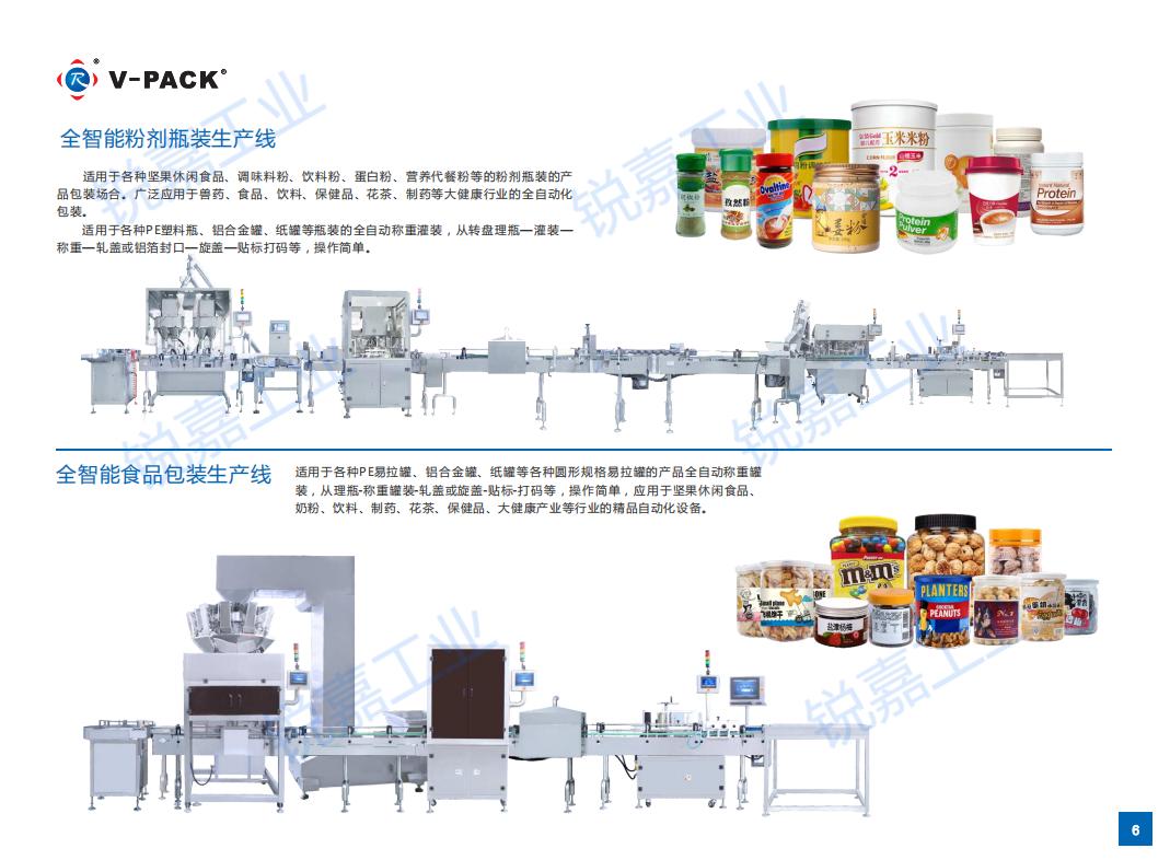 全智能食品包装生产线