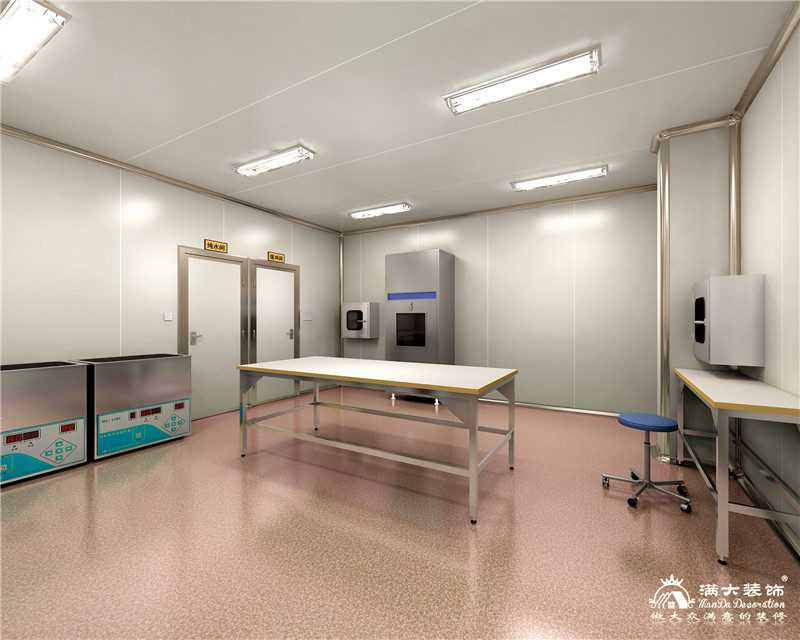 江西省万年县人民医院消毒供应中心装修设计案例