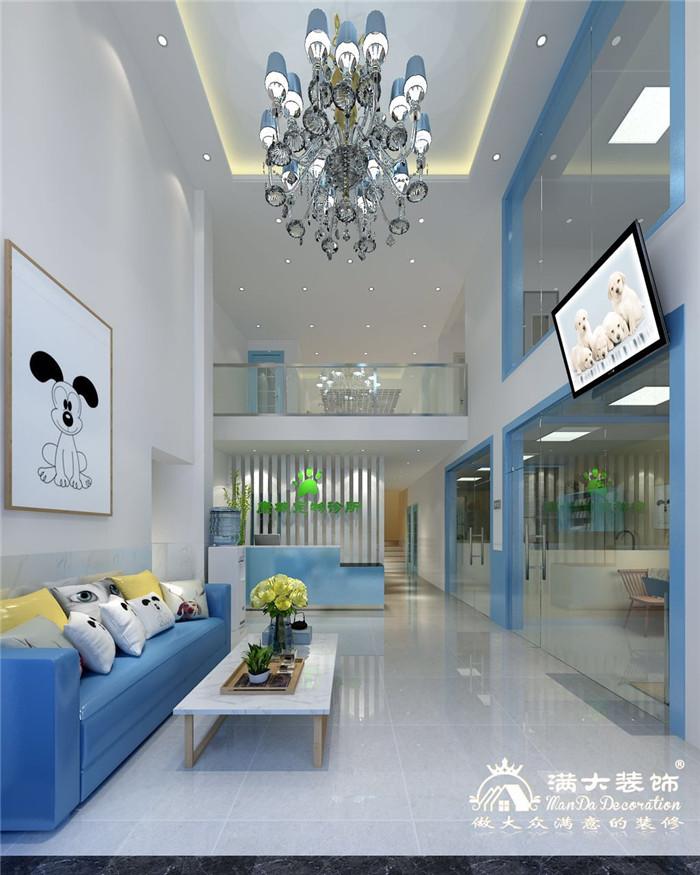 深圳康城宠物诊所装修设计案例