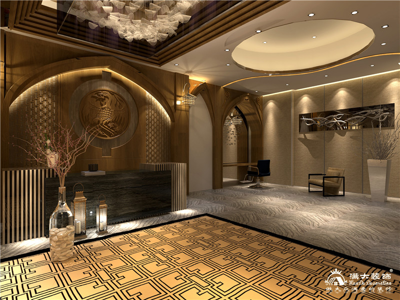 广州市贵夫人美容会所装修设计案例