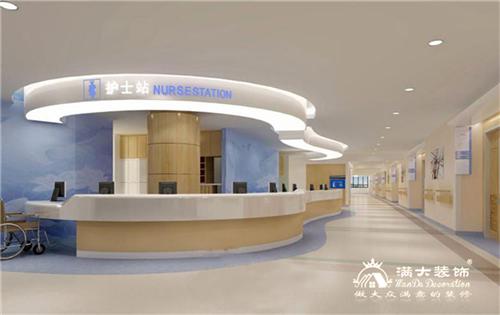 北大校区医院装修设计案例