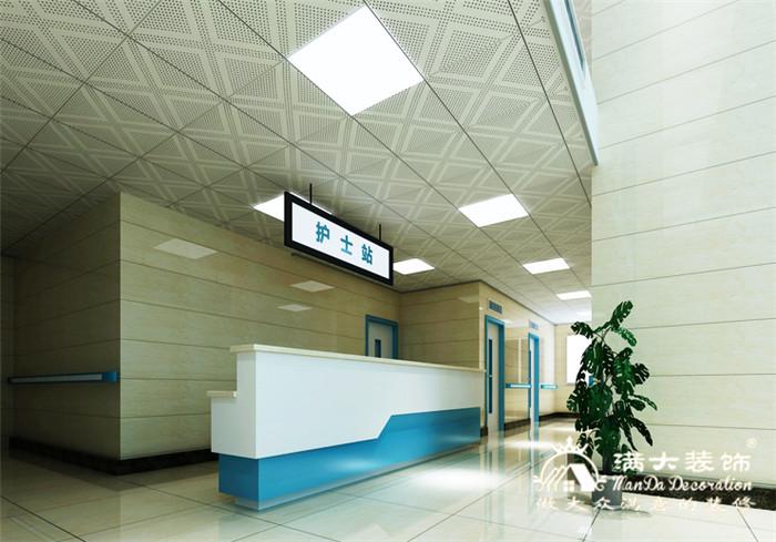 岳阳市第二人民医院装修设计案例