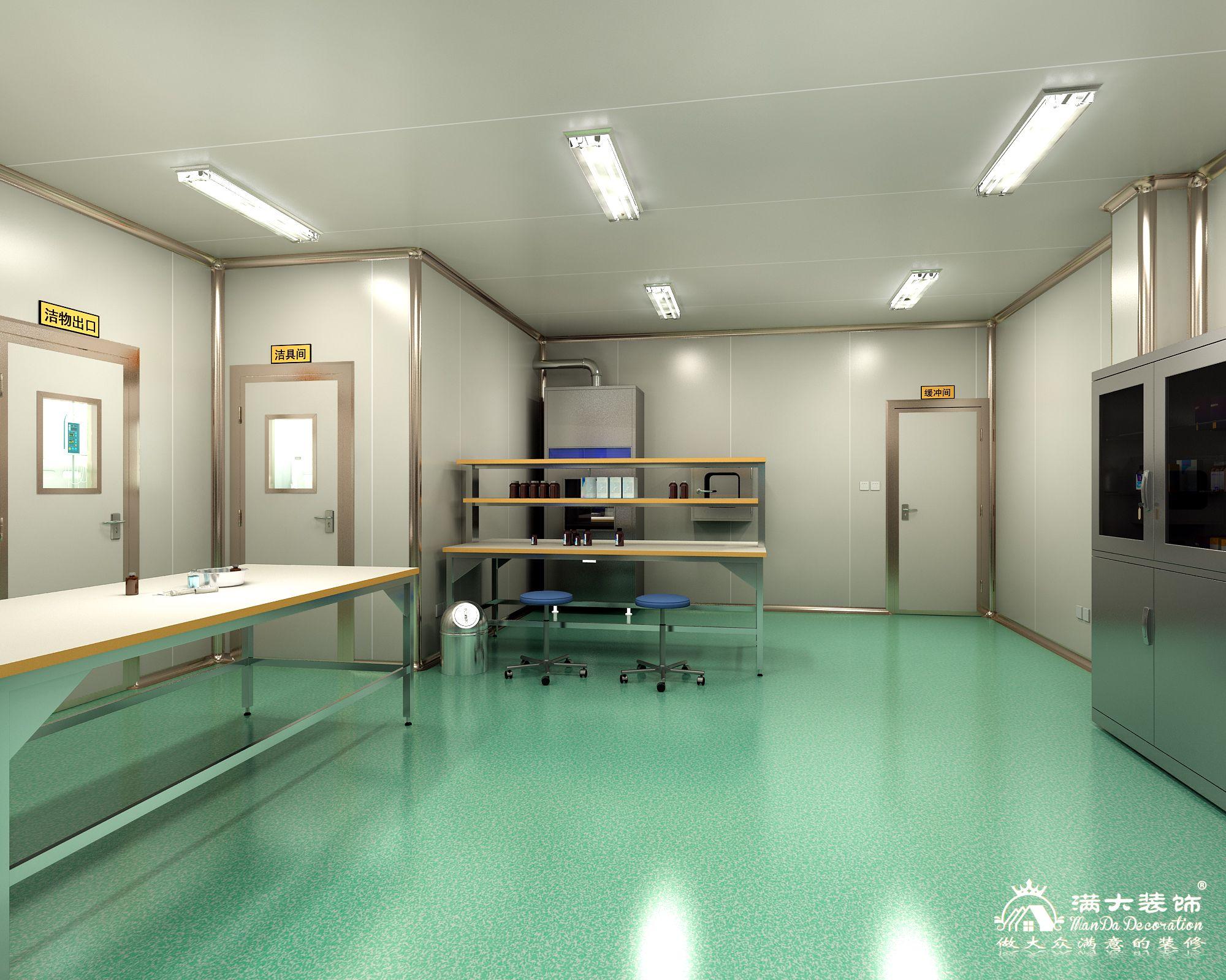 贵州毕节人民医院消毒供应中心消毒间装修