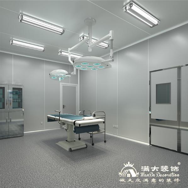 手术室装修的连廊