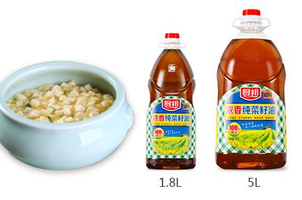 厨邦浓香纯菜籽油