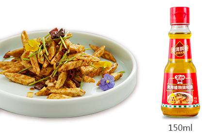 美味鲜浓香芝麻味食用植物调和油