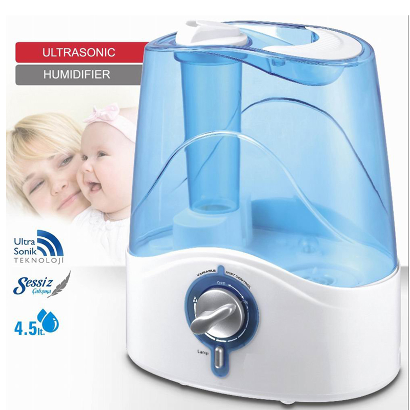 HYB-21 5L Cool Mist Large Humidifier for Home - 360 degree Humidifiers for Large Room, Bedroom, Base