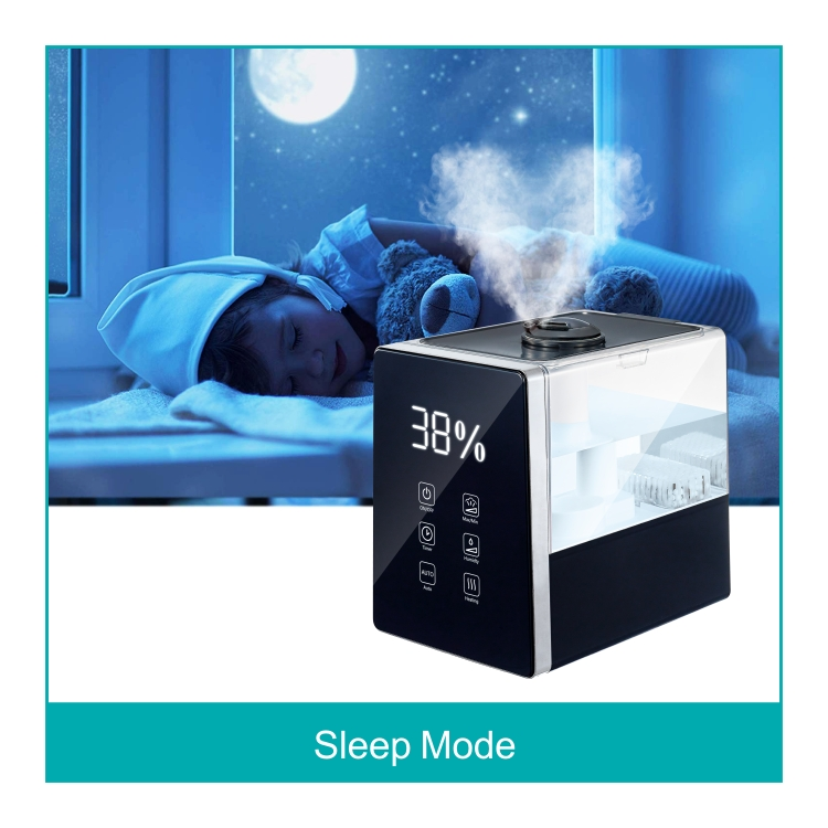HYB-B10 Remote 6L medical fogger top fill warm cool mist humidifier