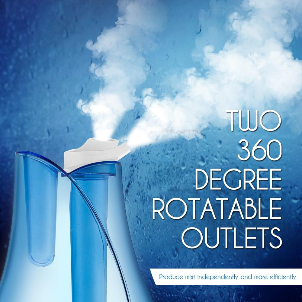HYB-55 Hot selling Double Mist Outlet Humidifier