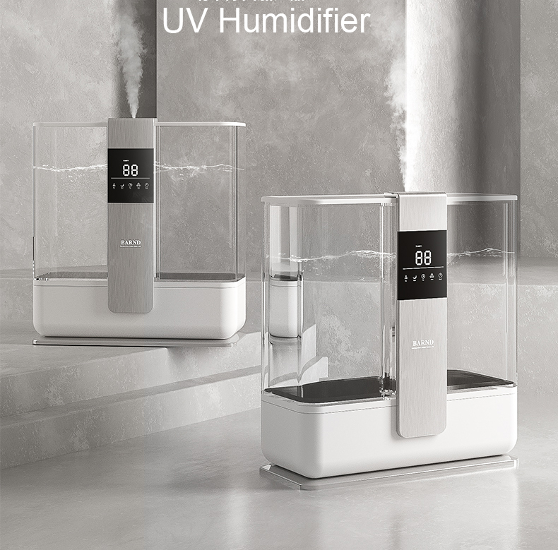 HYB-89 5L UV light top filling water home use ultrasonic sterilize humidifier