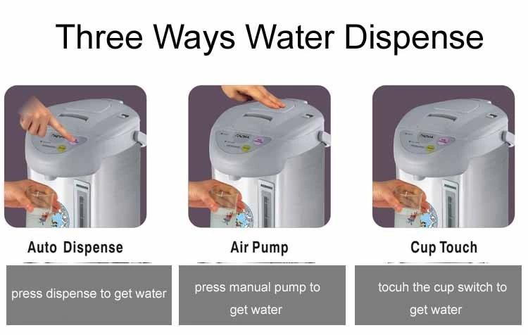 Good quality electric thermo pot air pot water dispenser CB,CE ETL
