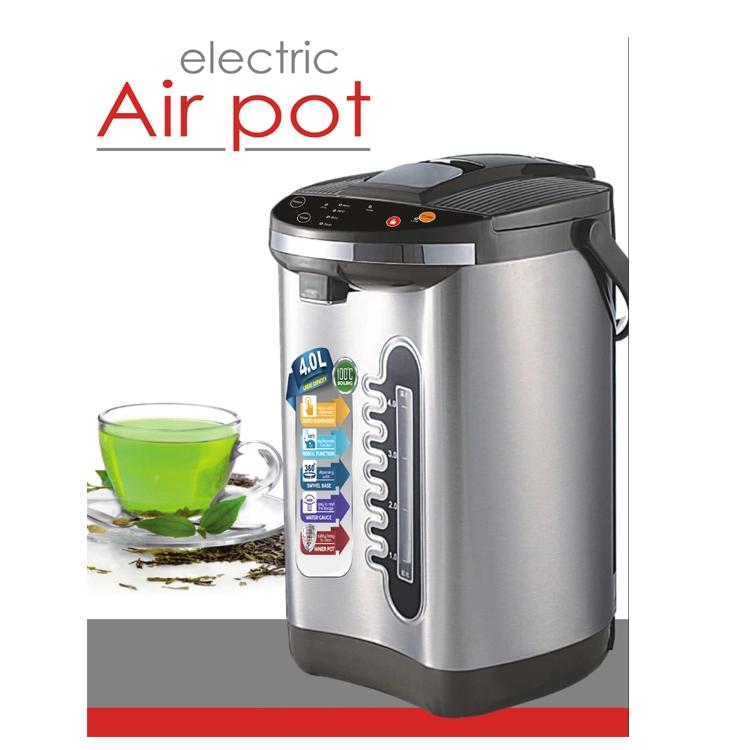 SUS304 stainless steel electric thermo pot with temperature settings CB,CE,ROHS,SASO,BSCI