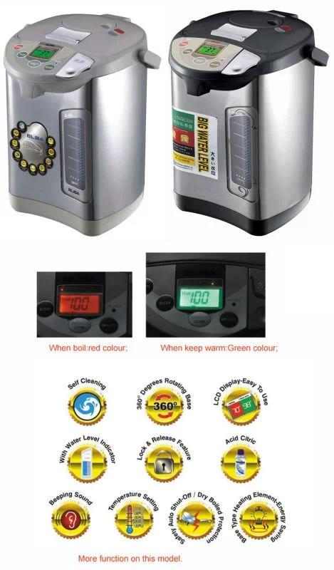 EKA-3.8N2 Special electroplating effluent button Electric Thermo Pots 110v/220v with LCD